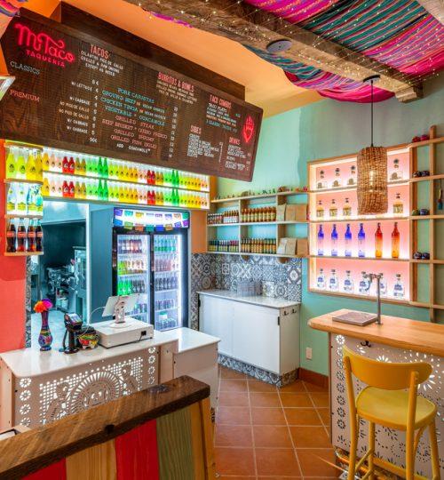 Mi Taco restaurant design Toronto (order area)