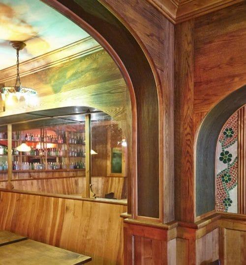 Bar Isabel restaurant design Toronto (arch detail)