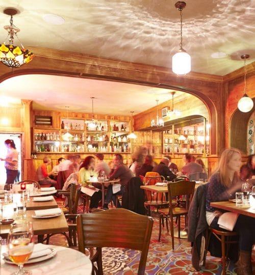 Bar Isabel restaurant design Toronto (dining area)