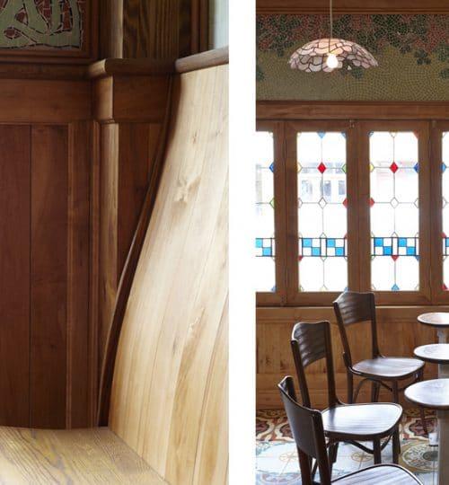 Bar Isabel restaurant design Toronto (custom woodwork)