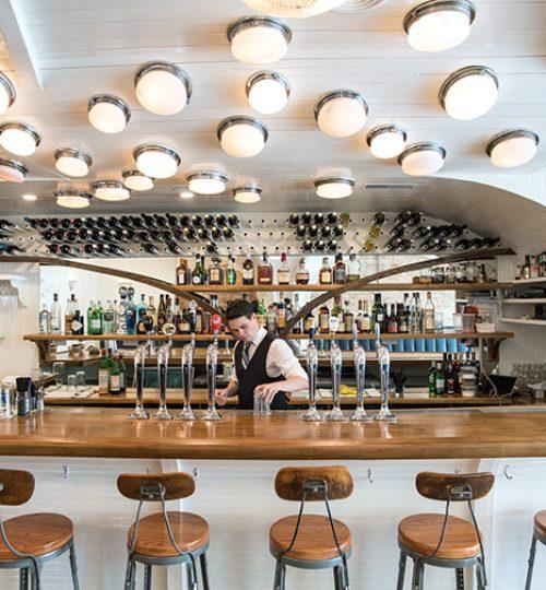 Commodore restaurant design Toronto (bar area)