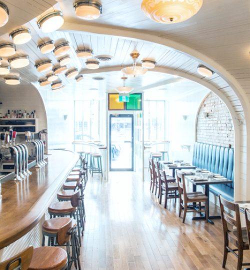 Commodore restaurant design Toronto