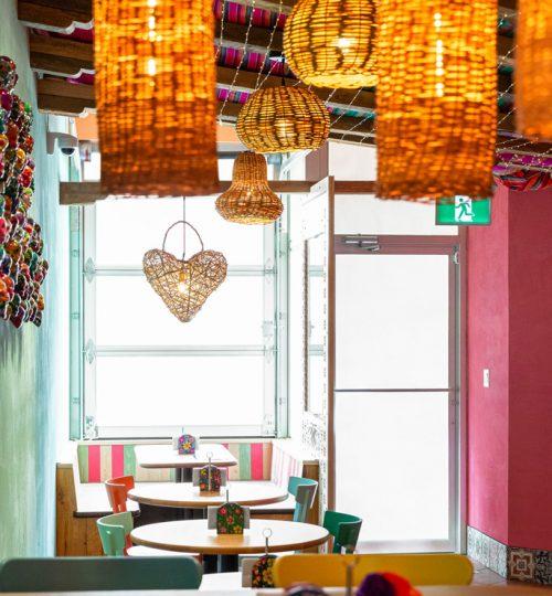 Mi Taco restaurant design Toronto (entrance)
