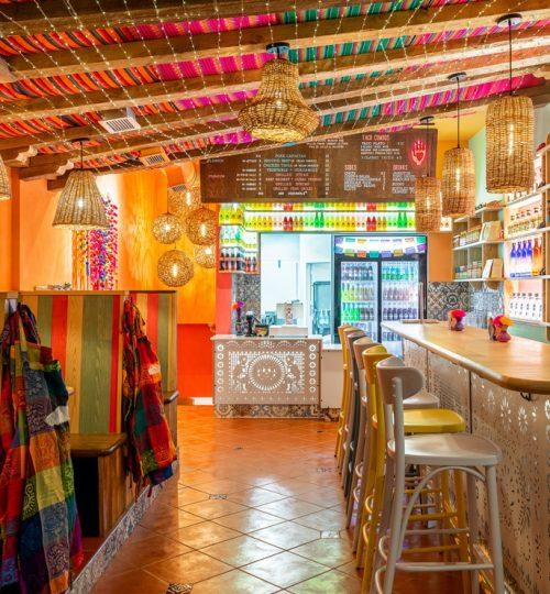 Mi Taco restaurant design Toronto