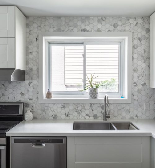 Millview kitchen remodel Toronto (backsplash detail