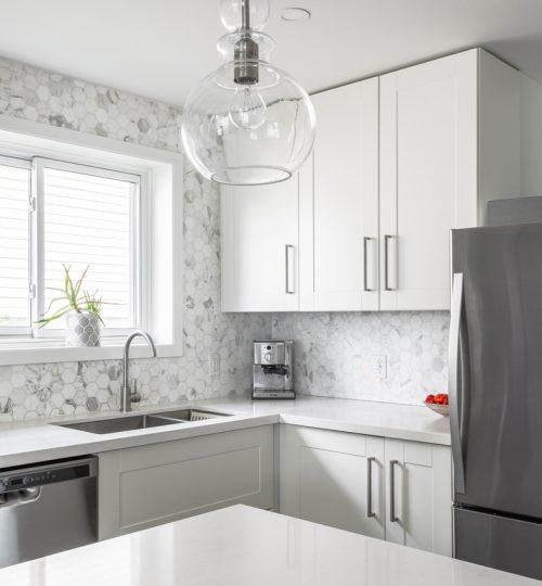 Millview kitchen remodel Toronto (cupboards)