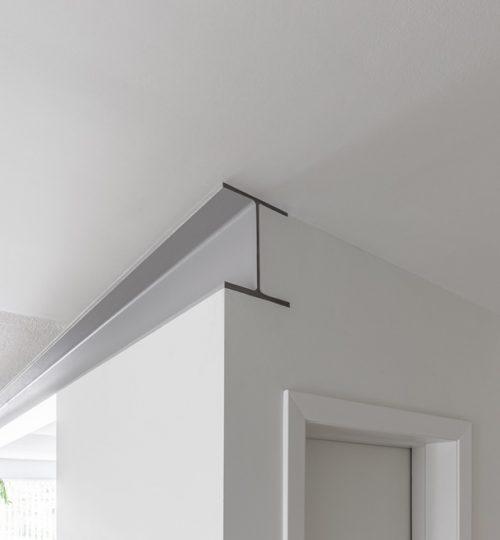 Millview kitchen remodel Toronto (steel beam detail)