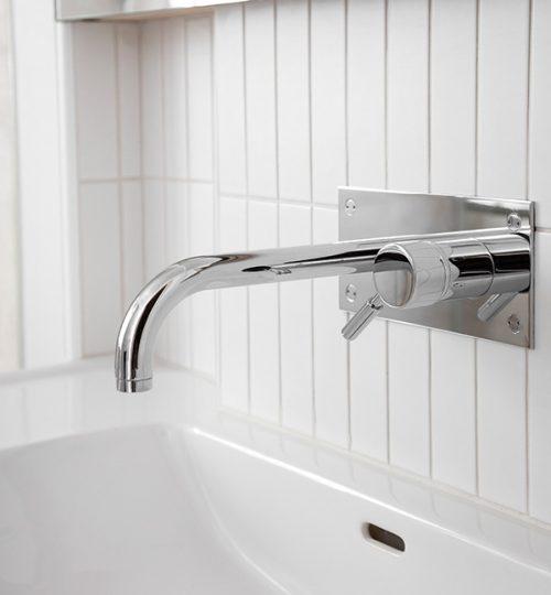 Modern bathroom renovation Toronto (fixture detail)