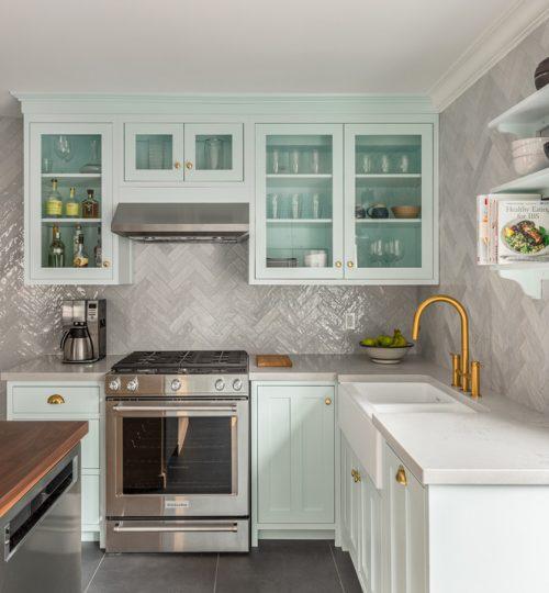 Skylark kitchen renovation Toronto (custom countertops)