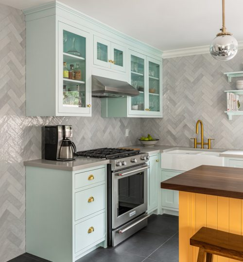 Skylark kitchen renovation Toronto (cupboards)