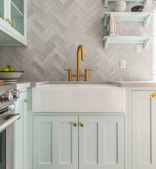 Skylark kitchen renovation Toronto (sink detail)